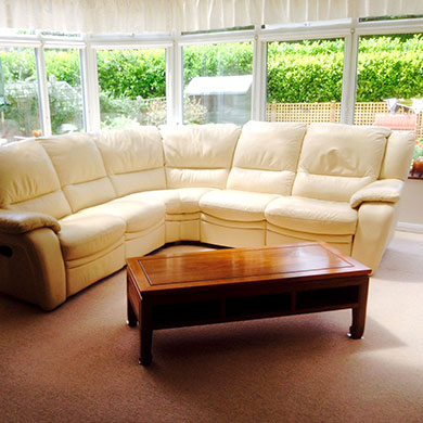 Leather Sofa Cleaning Bournemouth, Poole & Dorset