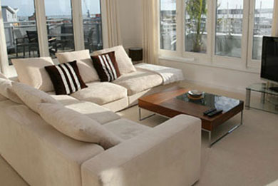 sofa and upholstery cleaning in sandbanks, canford cliffs, poole, dorset